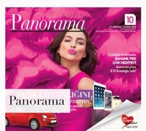 avon k10 panorama kataloğu 2015