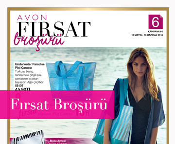 avon k6 Haziran fırsat broşürü 2016