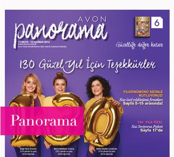 avon Haziran 2016 Panorama kataloğu