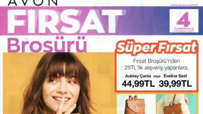 Avon Nisan Kataloğu: K4 2020 Fırsat Broşürü